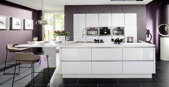 Quelle couleur pour votre cuisine équipée : cuisine blanche, cuisine ...