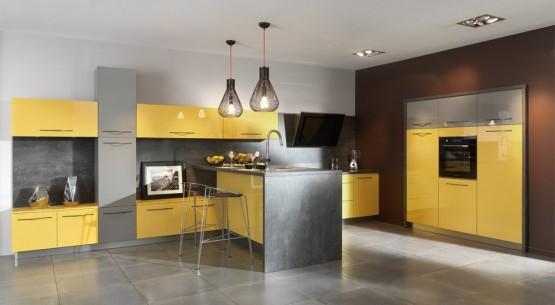 Tendances 2014 d couvrez les nouvelles cuisines design for Model cuisine equipee