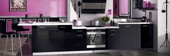 Quelle couleur pour votre cuisine quip e cuisine for Meuble cuisine mauve
