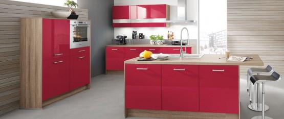 Quelle couleur pour votre cuisine quip e cuisine for Cuisine moderne rose