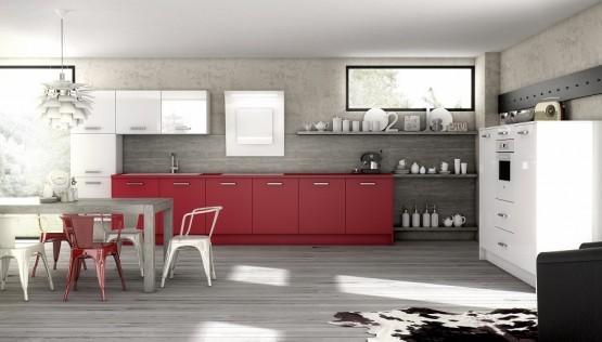 Quelle couleur pour votre cuisine quip e cuisine blanche cuisine rouge noire ou orange for Quelle couleur associer a l orange