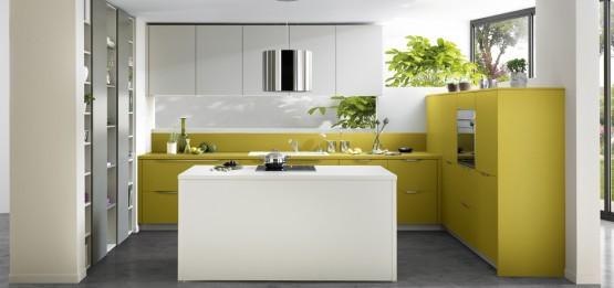 Quelle couleur pour votre cuisine équipée : cuisine blanche ...