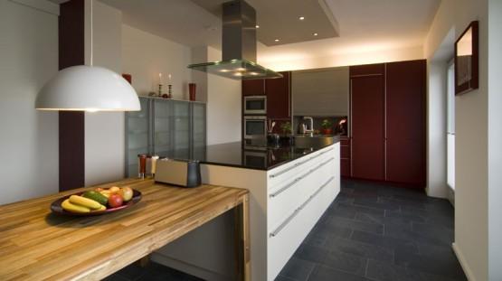 Cuisine Blanche Campagne : Cuisine plan de travail carrelé cuisine ikéa  Prix moyen dun plan