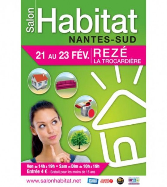 Salon de l 39 habitat 2014 nantes le blog d co cuisine for Salon de l habitat nantes