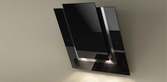 quelle hotte d corative pour votre cuisine 10 exemples illustr s le blog d co cuisine. Black Bedroom Furniture Sets. Home Design Ideas